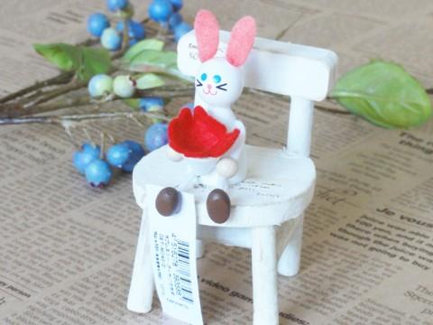 帯広通販夢雑貨MOMO・もも・モモ レスニーラブブーケウサギ1