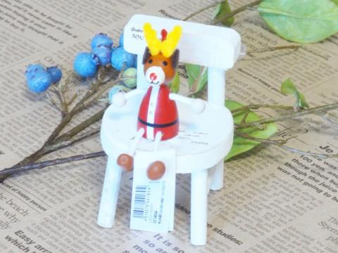 帯広通販夢雑貨MOMO・もも・モモ レスニー人形クリスマスサンタトナカイ1