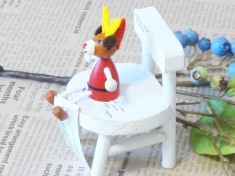 帯広通販夢雑貨MOMO・もも・モモ レスニー人形クリスマスサンタトナカイ2