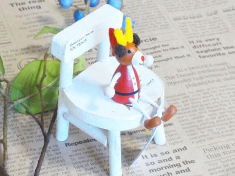 帯広通販夢雑貨MOMO・もも・モモ レスニー人形クリスマスサンタトナカイ3