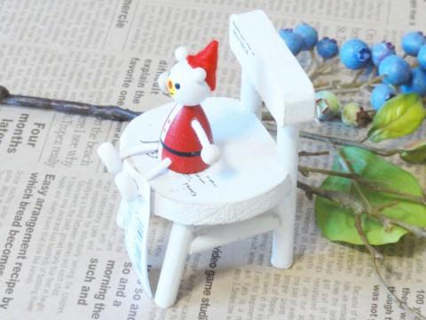 帯広通販夢雑貨MOMO・もも・モモ レスニー人形クリスマスサンタクマ2