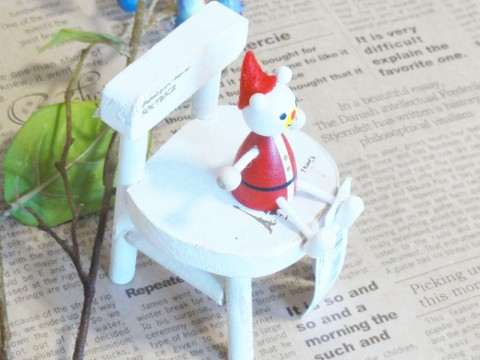 帯広通販夢雑貨MOMO・もも・モモ レスニー人形クリスマスサンタクマ3