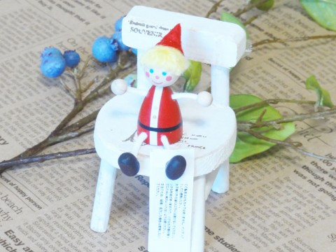 帯広通販夢雑貨MOMO・もも・モモ レスニー人形クリスマスサンタ男の子1
