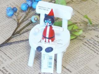 帯広通販夢雑貨MOMO・もも・モモ レスニー人形クリスマスサンタネコ1