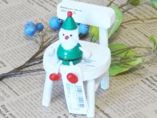 帯広通販夢雑貨MOMO・もも・モモ レスニー人形クリスマスサンタグリーン1