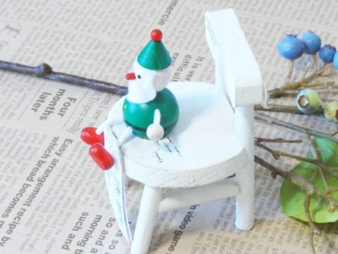 帯広通販夢雑貨MOMO・もも・モモ レスニー人形クリスマスサンタグリーン2