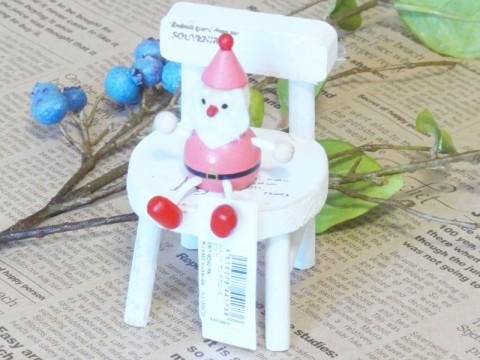 帯広通販夢雑貨MOMO・もも・モモ レスニー人形クリスマスサンタピンク1