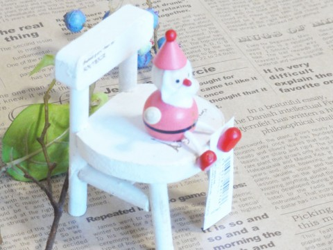 帯広通販夢雑貨MOMO・もも・モモ レスニー人形クリスマスサンタピンク3