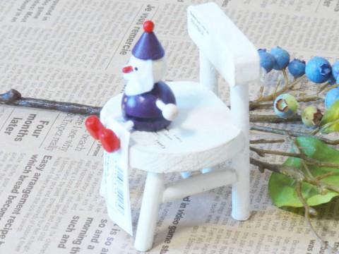 帯広通販夢雑貨MOMO・もも・モモ レスニー人形クリスマスサンタパープル2