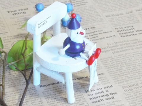 帯広通販夢雑貨MOMO・もも・モモ レスニー人形クリスマスサンタパープル3