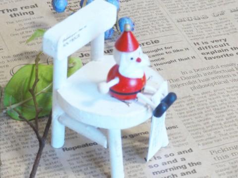 帯広通販夢雑貨MOMO・もも・モモ レスニー人形クリスマスサンタレッド3