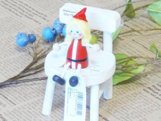 帯広通販夢雑貨MOMO・もも・モモ レスニー人形クリスマスサンタ女の子1