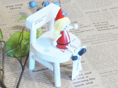 帯広通販夢雑貨MOMO・もも・モモ レスニー人形クリスマスサンタ女の子3