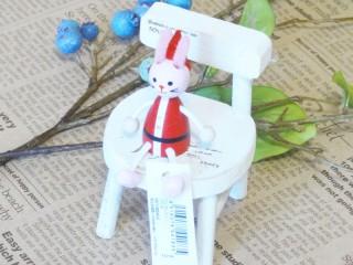 帯広通販夢雑貨MOMO・もも・モモ レスニー人形クリスマスサンタウサギ1