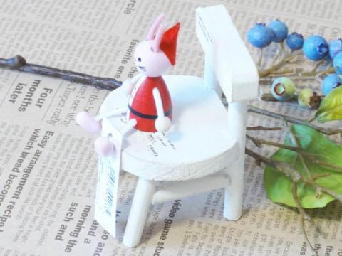 帯広通販夢雑貨MOMO・もも・モモ レスニー人形クリスマスサンタウサギ2