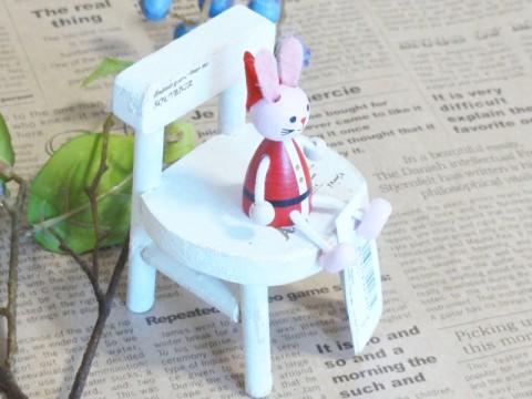 帯広通販夢雑貨MOMO・もも・モモ レスニー人形クリスマスサンタウサギ3