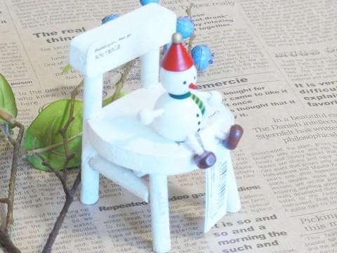 帯広通販夢雑貨MOMO・もも・モモ レスニー人形クリスマススノーマンレッド3