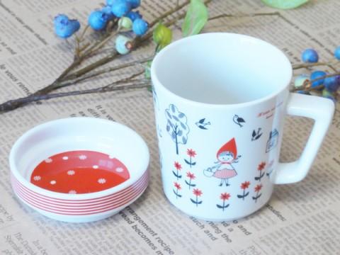 帯広通販夢雑貨MOMO・もも・モモ Shinzi Katoh 赤ずきん カップ&ソーサー5