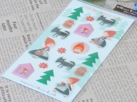 帯広通販夢雑貨MOMO・もも・モモ Shinzi Katoh 赤ずきん green flash2