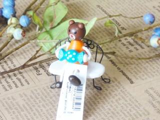 帯広通販夢雑貨MOMO・もも・モモ キャンディレスニー人形クマ1