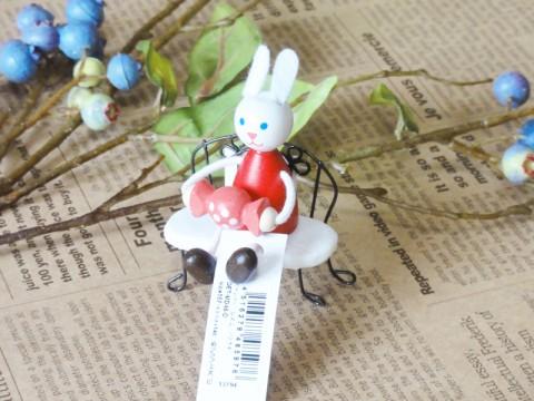 帯広通販夢雑貨MOMO・もも・モモ キャンディレスニー人形ウサギ1