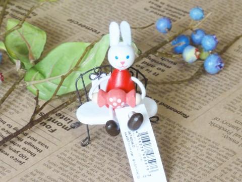帯広通販夢雑貨MOMO・もも・モモ キャンディレスニー人形ウサギ2